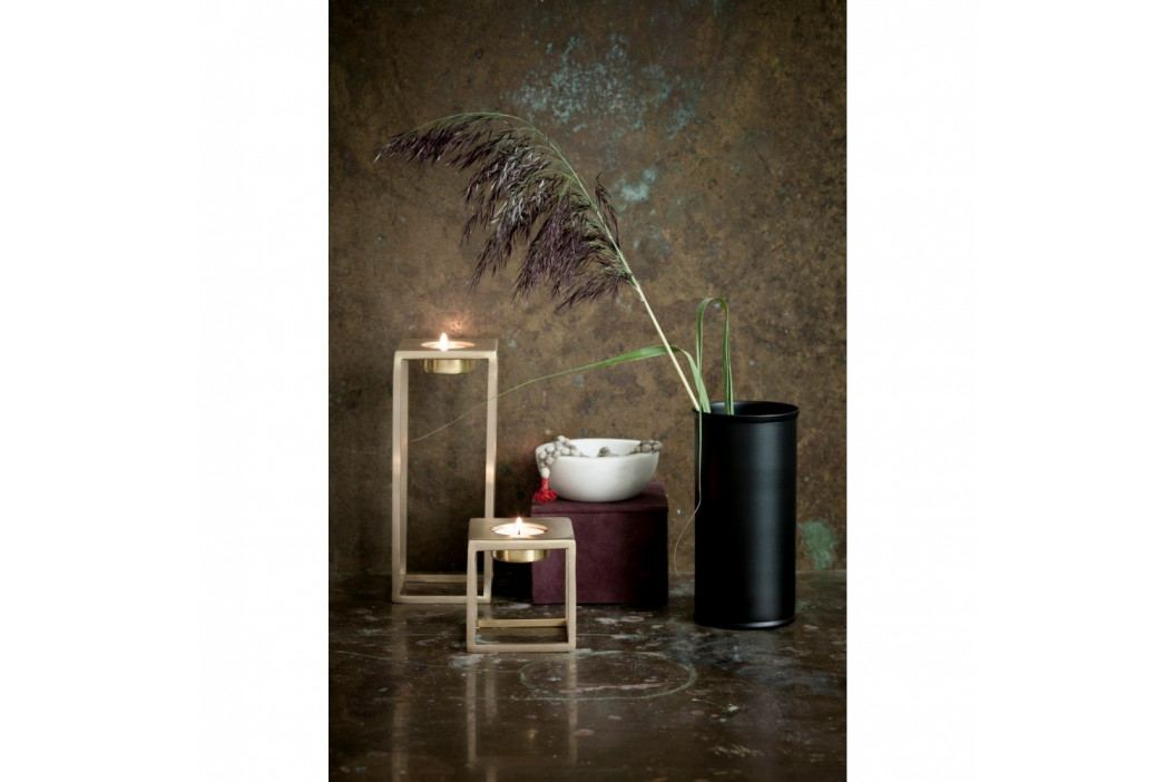 Čierna kovová váza NORDSTJERNE, ⌀10 cm