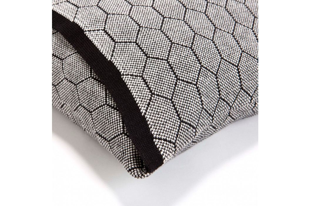 Tmavosivá obliečka na vankúš Mikabarr Hive, 50 x 50 cm
