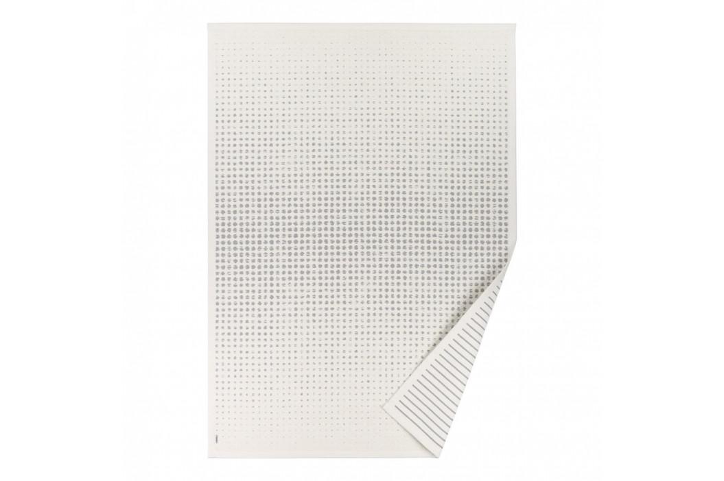 Biely vzorovaný obojstranný koberec Narma Helme, 160 × 230 cm