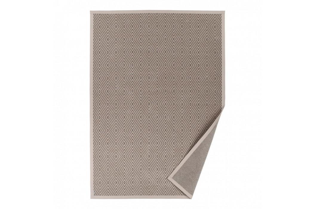 Béžový vzorovaný obojstranný koberec Narma Kalana, 70×140cm