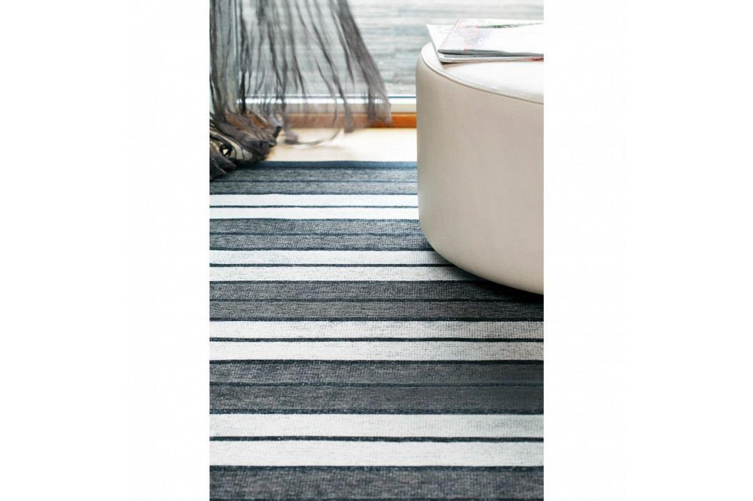 Antracitovosivý vzorovaný obojstranný koberec Narma Kupa, 160x230cm