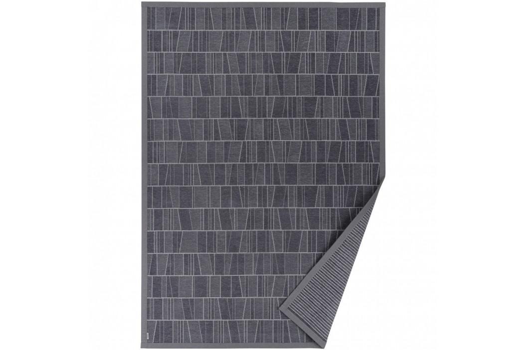 Sivý vzorovaný obojstranný koberec Narma Kursi, 70 × 140 cm