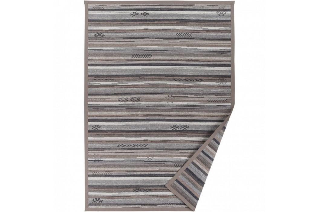 Sivo-béžový vzorovaný obojstranný koberec Narma Liiva, 140 × 200 cm