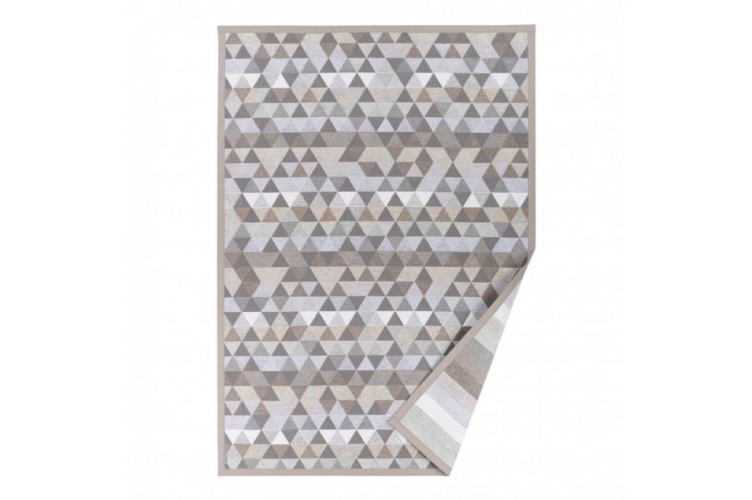 Béžový vzorovaný obojstranný koberec Narma Luke, 140×200cm