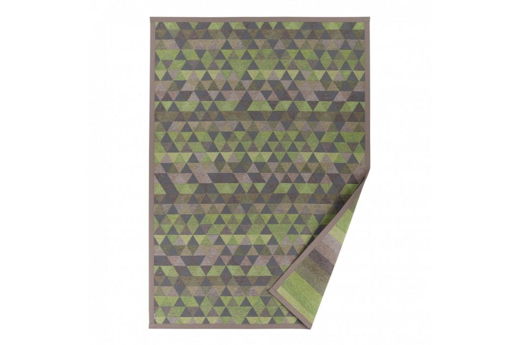 Zelený vzorovaný obojstranný koberec Narma Luke, 160 × 230 cm