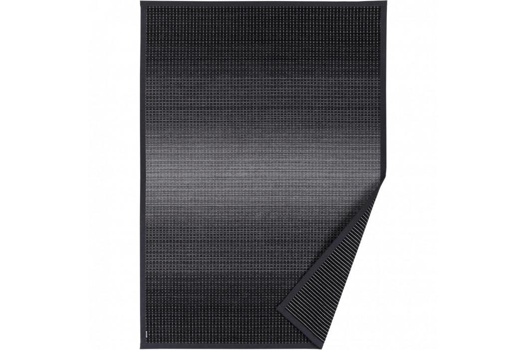 Antracitovosivý vzorovaný obojstranný koberec Narma Moka, 70×140cm