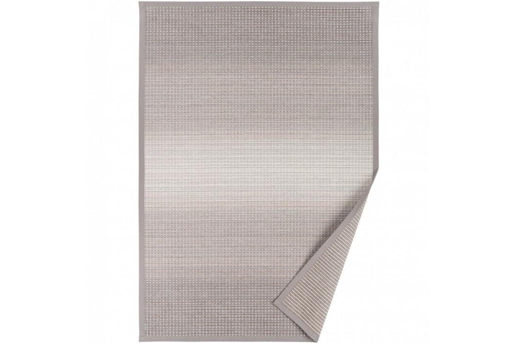 Sivo-béžový vzorovaný obojstranný koberec Narma Moka, 70×140cm
