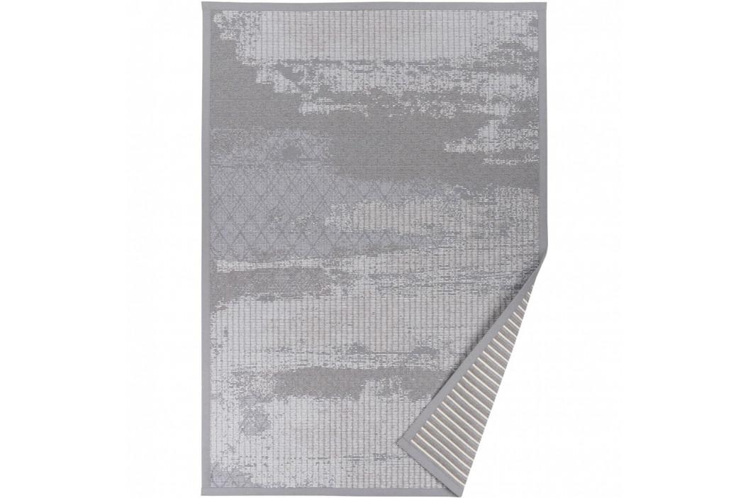 Sivý vzorovaný obojstranný koberec Narma Nehatu, 140x200cm