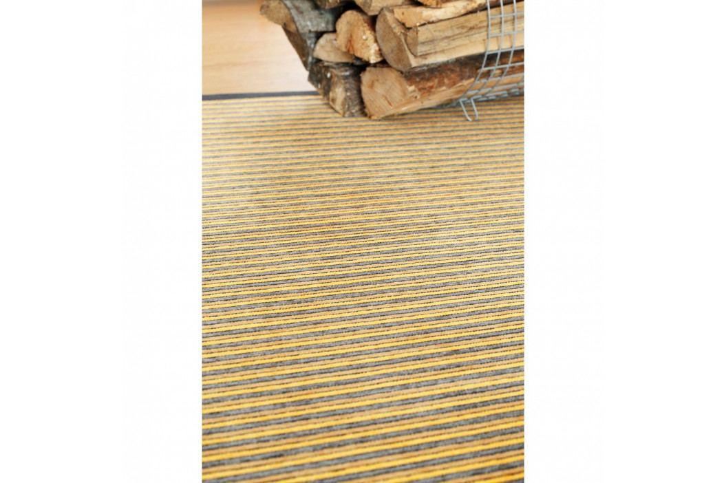 Béžový vzorovaný obojstranný koberec Narma Nehatu, 140×200cm