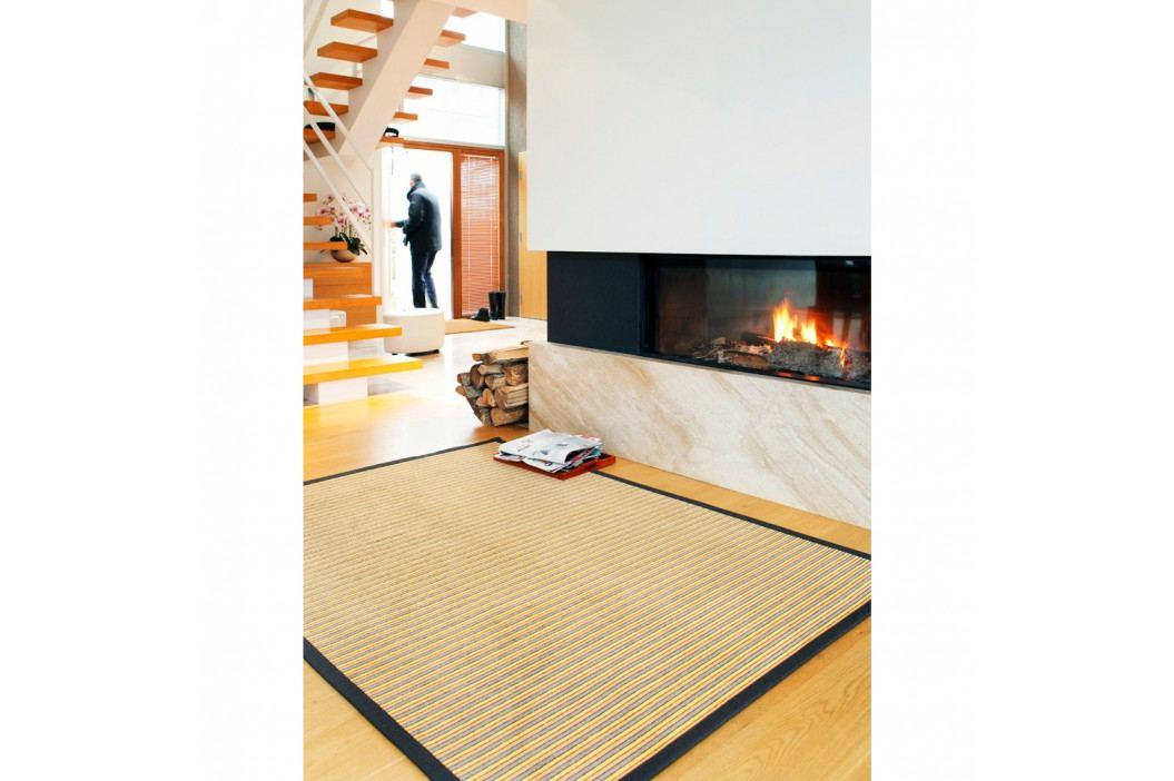 Béžový vzorovaný obojstranný koberec Narma Nehatu, 160×230cm