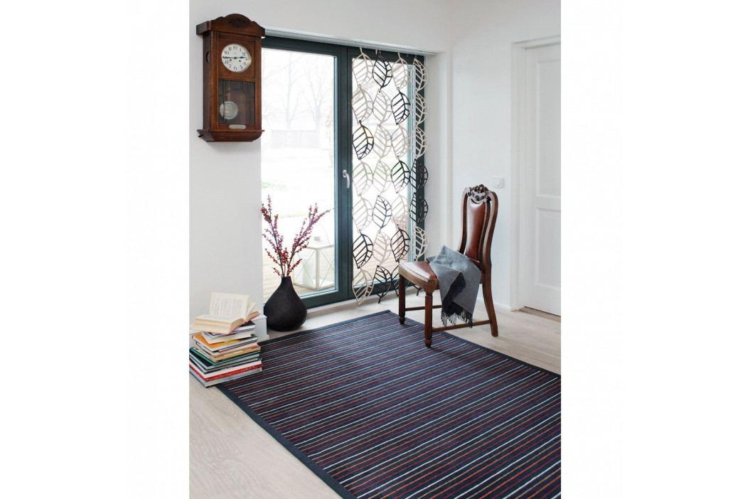 Antracitovosivý vzorovaný obojstranný koberec Narma Niidu, 140×200cm