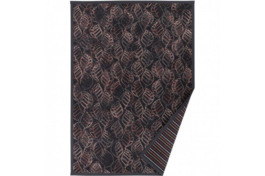 Antracitovosivý vzorovaný obojstranný koberec Narma Niidu, 160×230cm