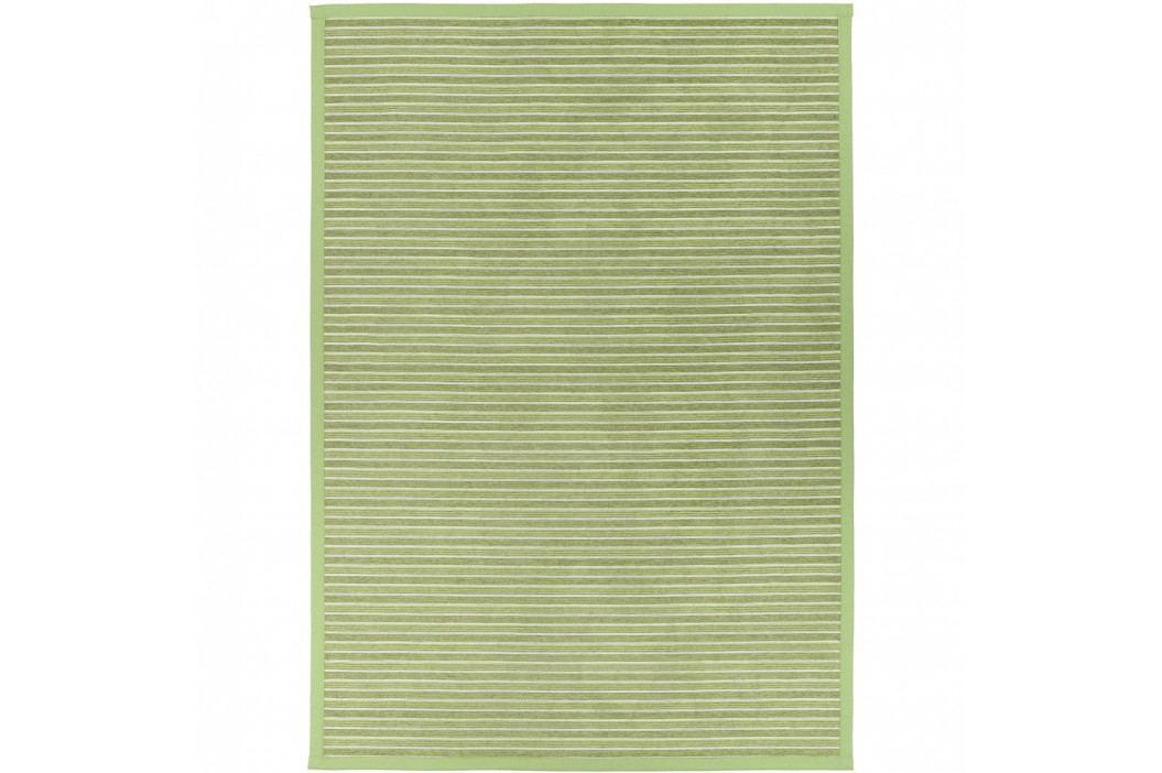 Zelený vzorovaný obojstranný koberec Narma Nurme, 70x140cm
