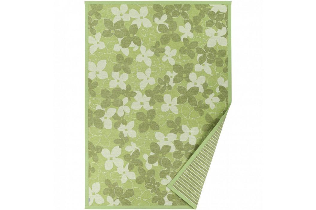 Zelený vzorovaný obojstranný koberec Narma Nurme, 140×200cm