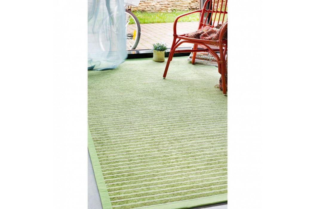 Zelený vzorovaný obojstranný koberec Narma Nurme, 160x230cm