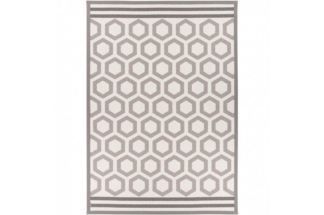 Béžový vzorovaný obojstranný koberec Narma Oore, 140×200cm