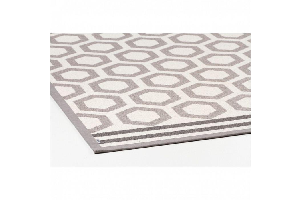 Béžový vzorovaný obojstranný koberec Narma Oore, 160×230cm
