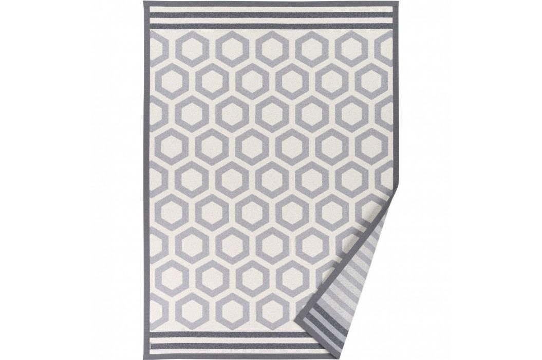Sivý vzorovaný obojstranný koberec Narma Oore, 140x200cm