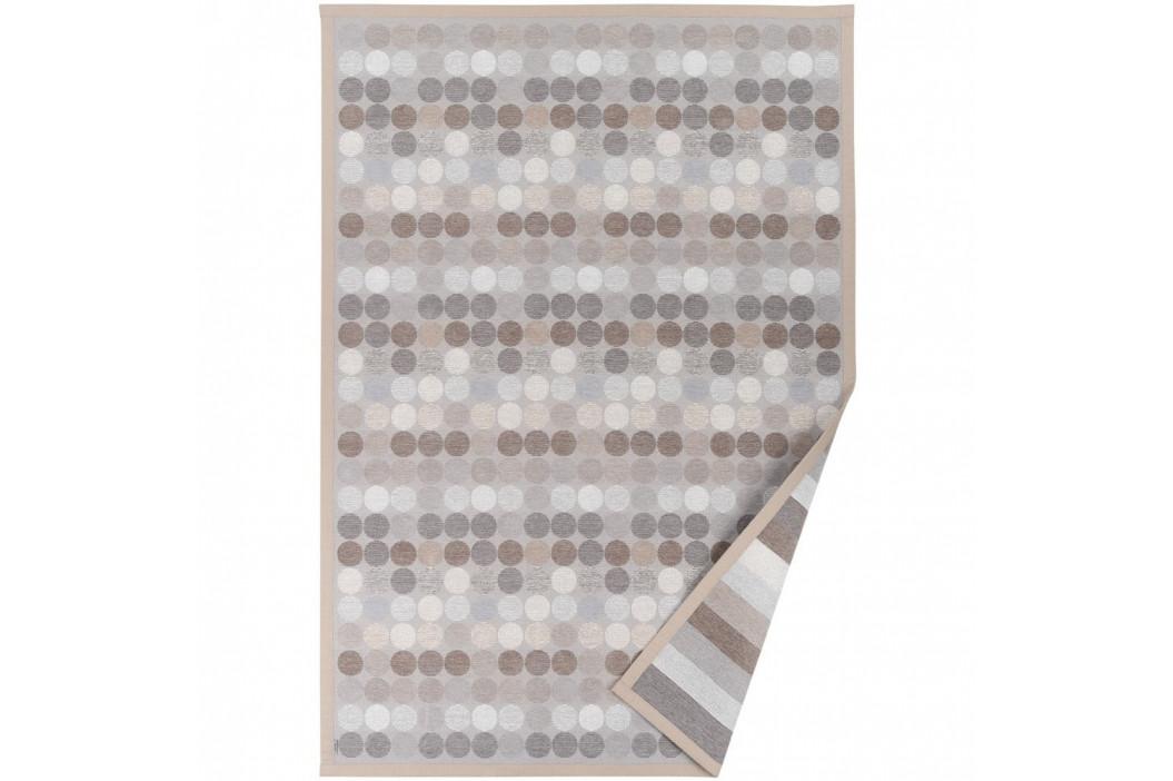 Béžový vzorovaný obojstranný koberec Narma Pallika, 160×230cm