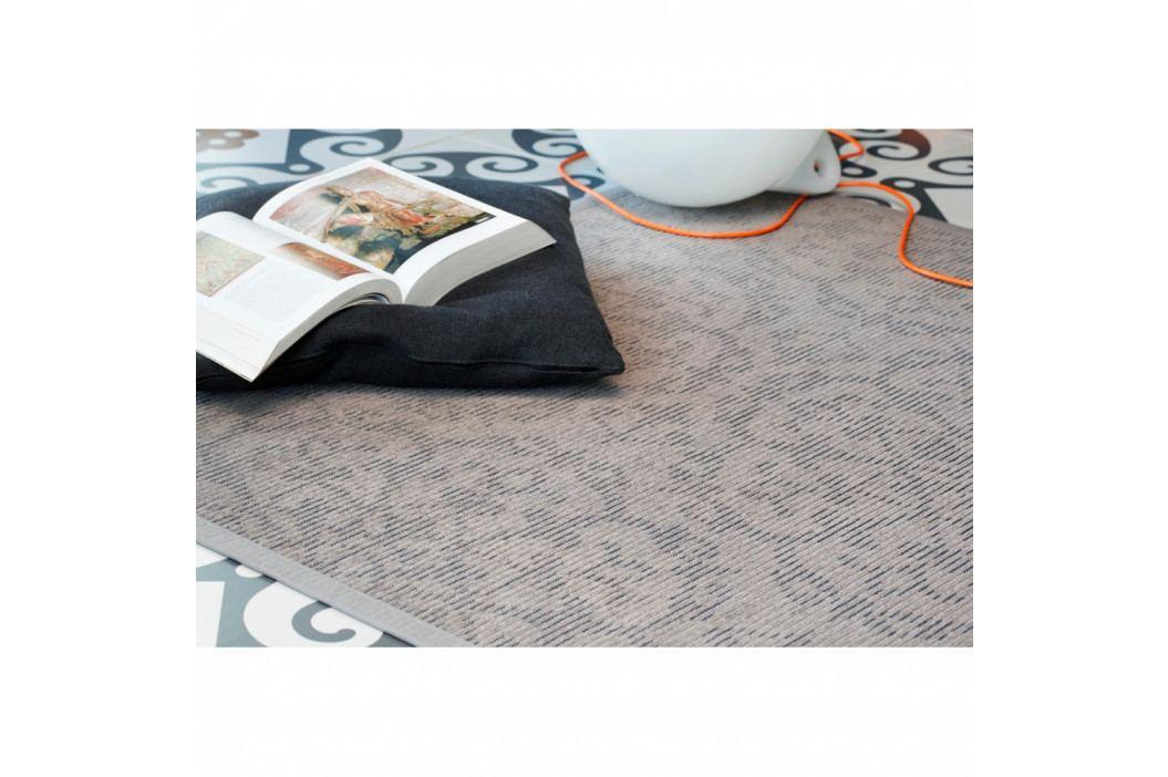 Sivo-béžový vzorovaný obojstranný koberec Narma Pitsalu, 140×200cm