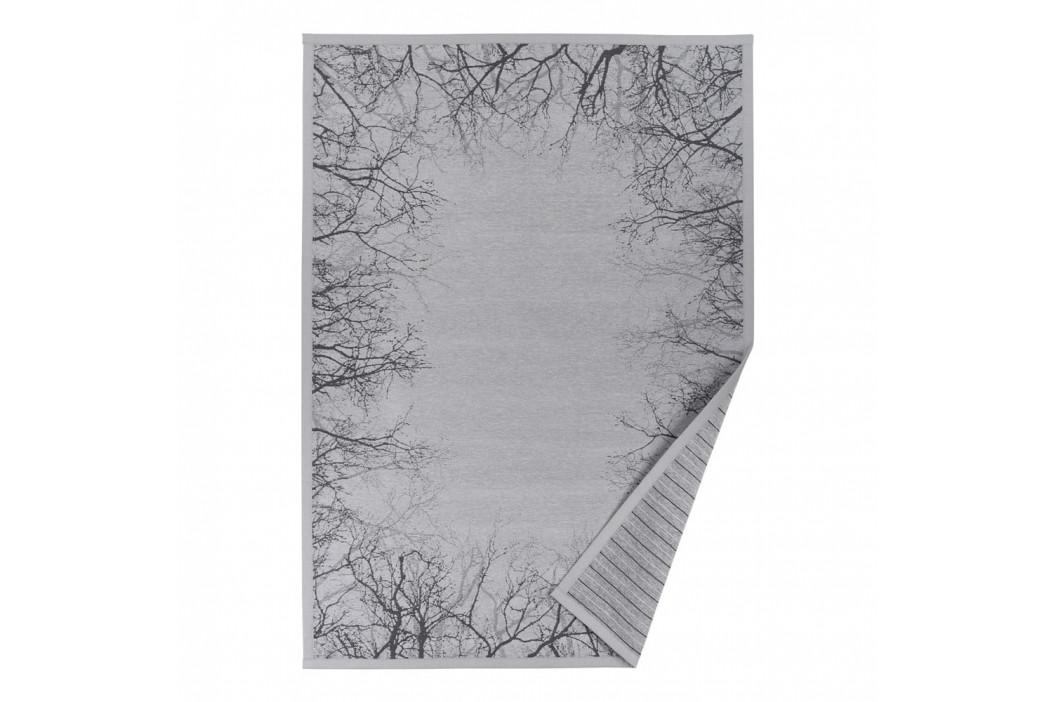 Sivý vzorovaný obojstranný koberec Narma Puise, 140 x 200 cm