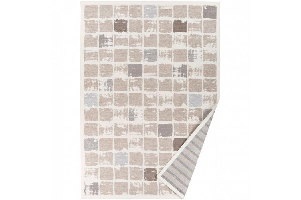 Béžový vzorovaný obojstranný koberec Narma Telise, 140x200cm