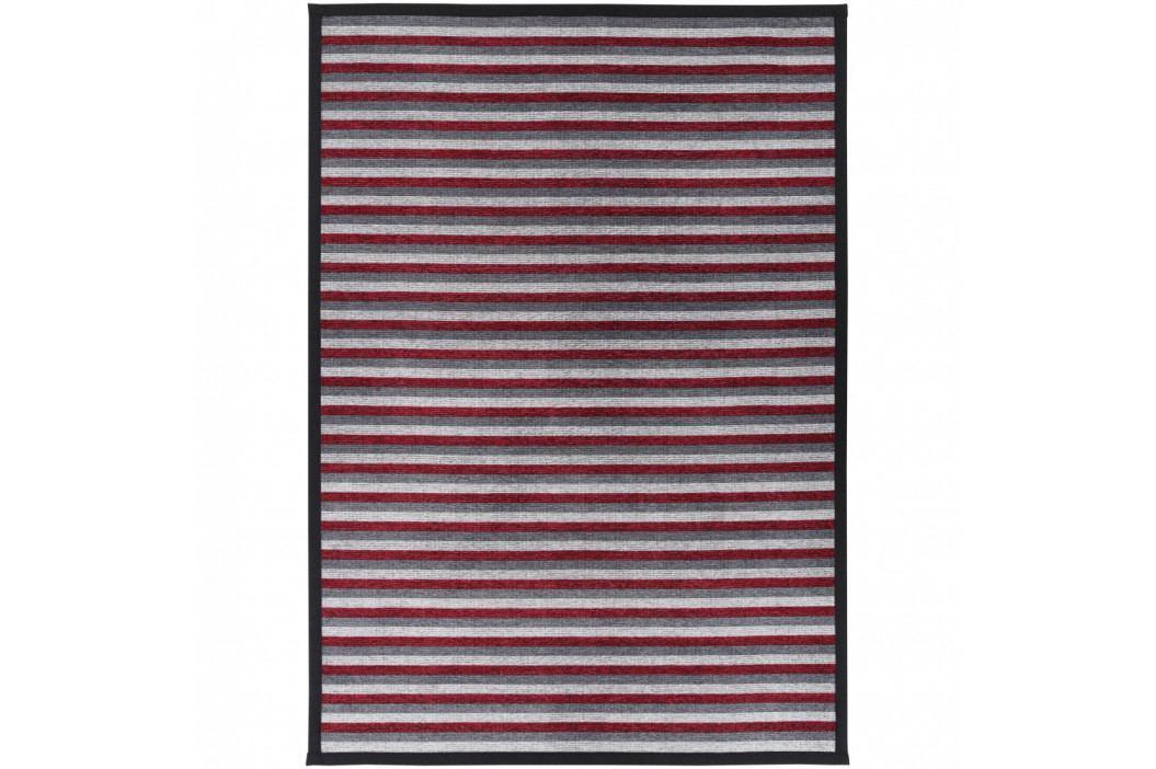 Červený vzorovaný obojstranný koberec Narma Telise, 140x200cm