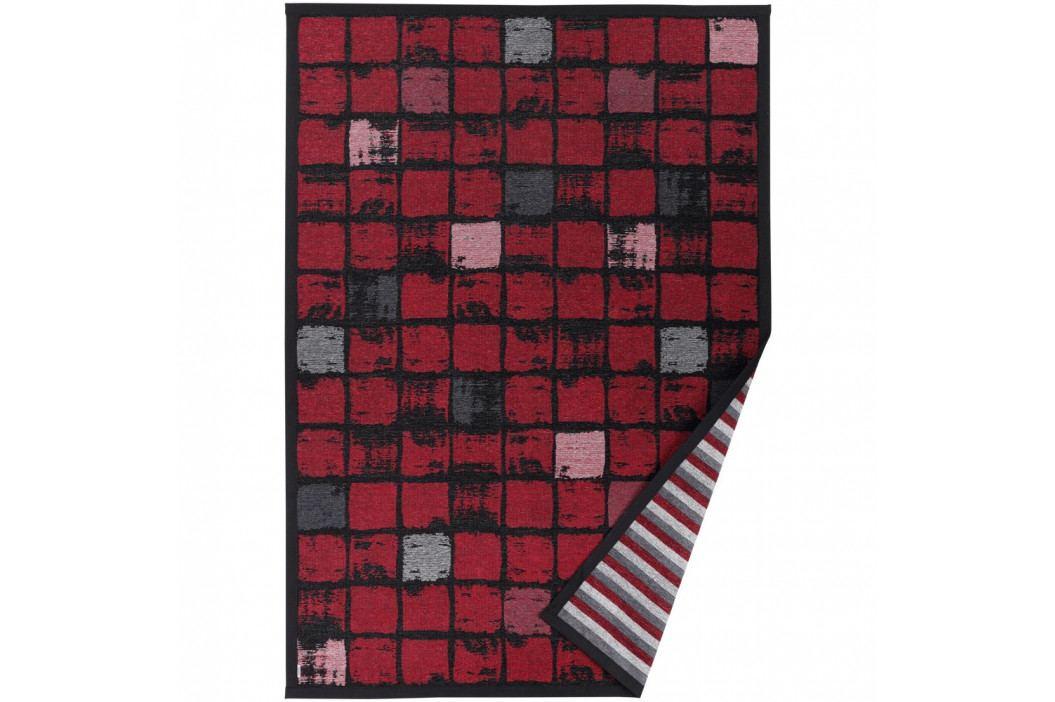 Červený vzorovaný obojstranný koberec Narma Telise, 160x230cm