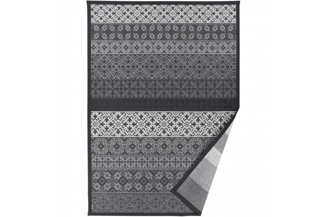 Sivý vzorovaný obojstranný koberec Narma Tidriku, 140 × 200 cm