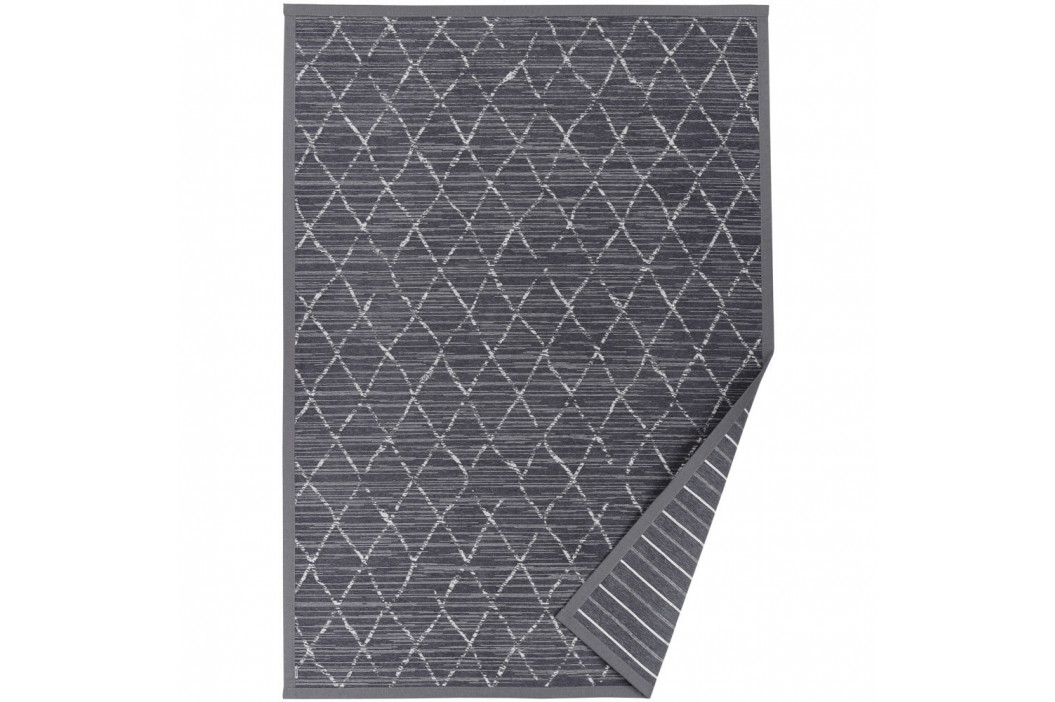 Sivý vzorovaný obojstranný koberec Narma Vao, 140 × 200 cm