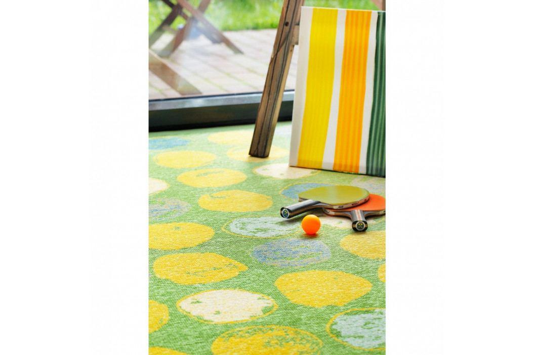 Zelený vzorovaný obojstranný koberec Narma Veere, 160x230cm