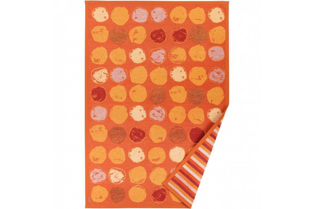 Oranžový vzorovaný obojstranný koberec Narma Veere, 160x230cm