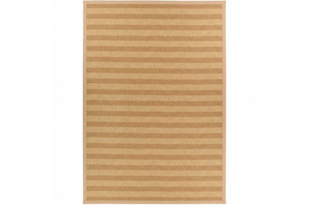 Béžový vzorovaný obojstranný koberec Narma Viita, 140×200cm