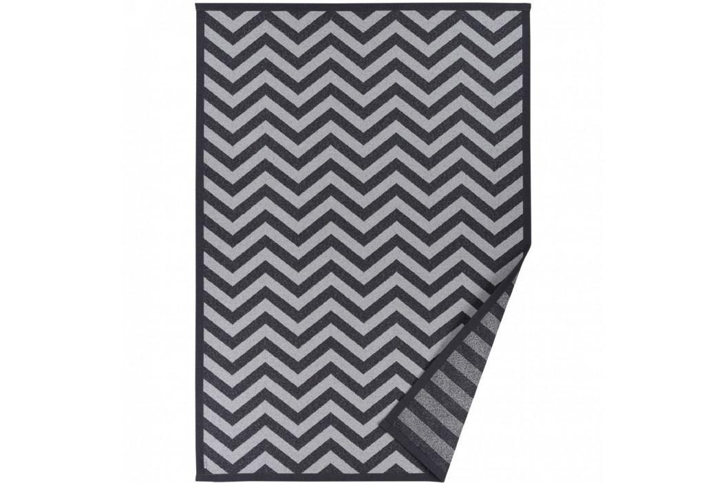 Sivý vzorovaný obojstranný koberec Narma Viita, 70×140cm
