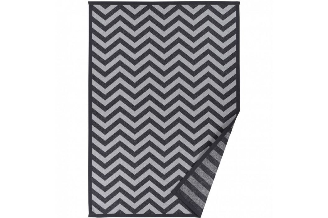 Sivý vzorovaný obojstranný koberec Narma Viita, 140×200cm