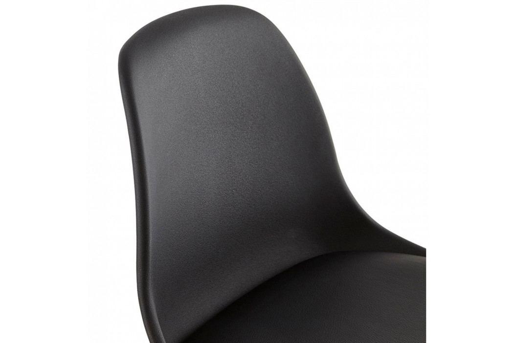 Čierna barová stolička Kokoon Design Elody