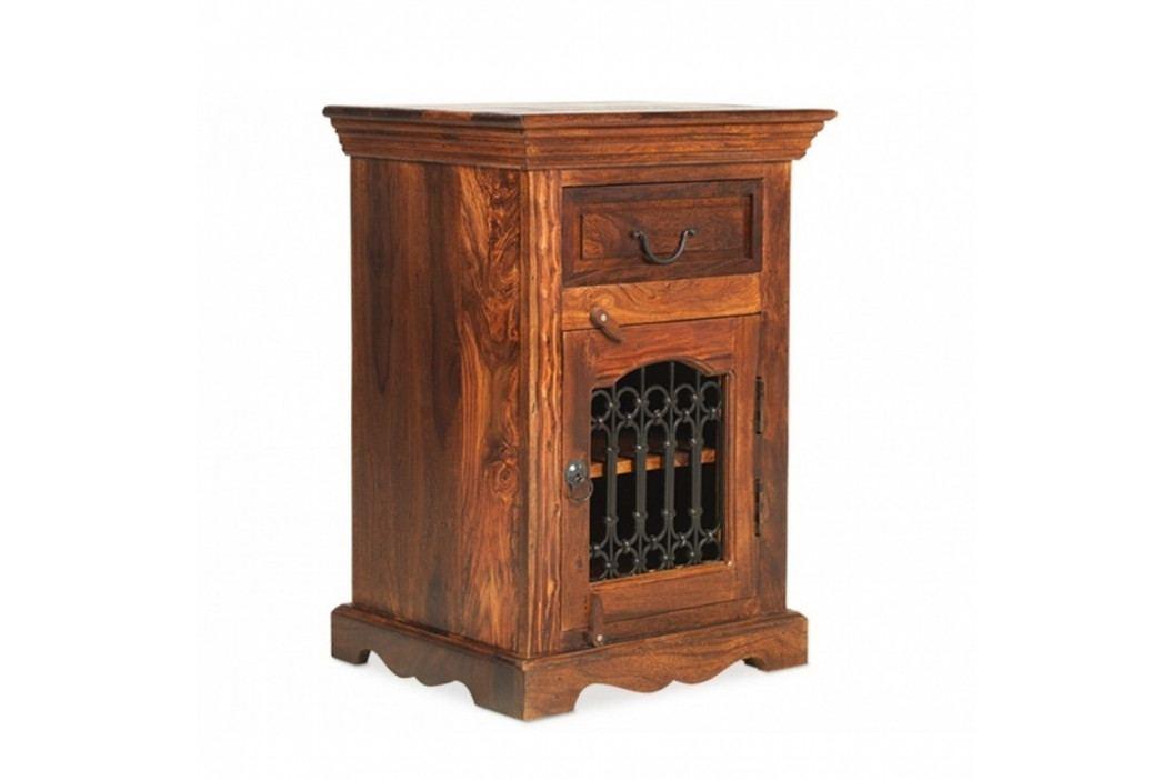 Nočný stolík z palisandrového dreva Massive Home Lia