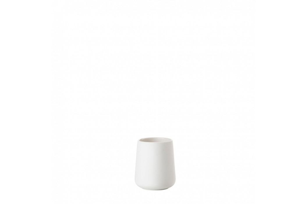 Biely pohárik na zubné kefky Nova One