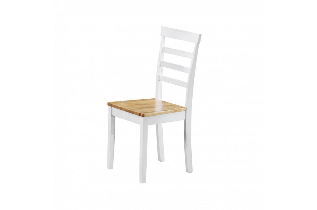 Sada 2 bielych jedálenských stoličiek Støraa Molly