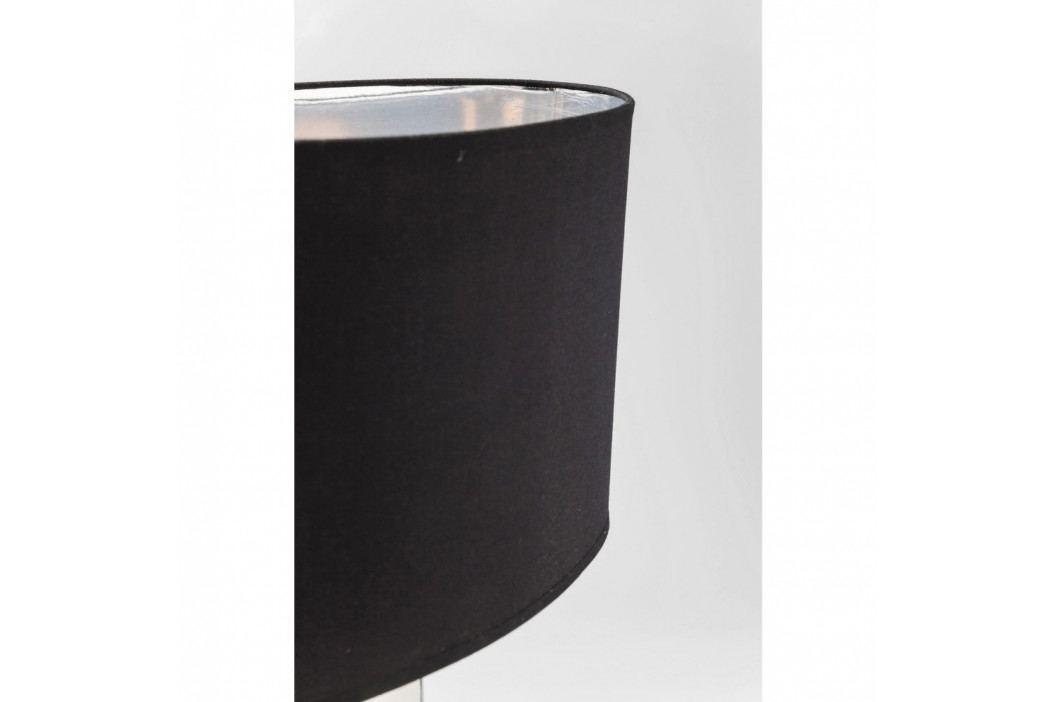 Stolová lampa v striebornej farbe Kare Design Drop