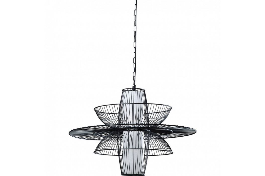 Čierne stropné svietidlo Kare Design Cappello