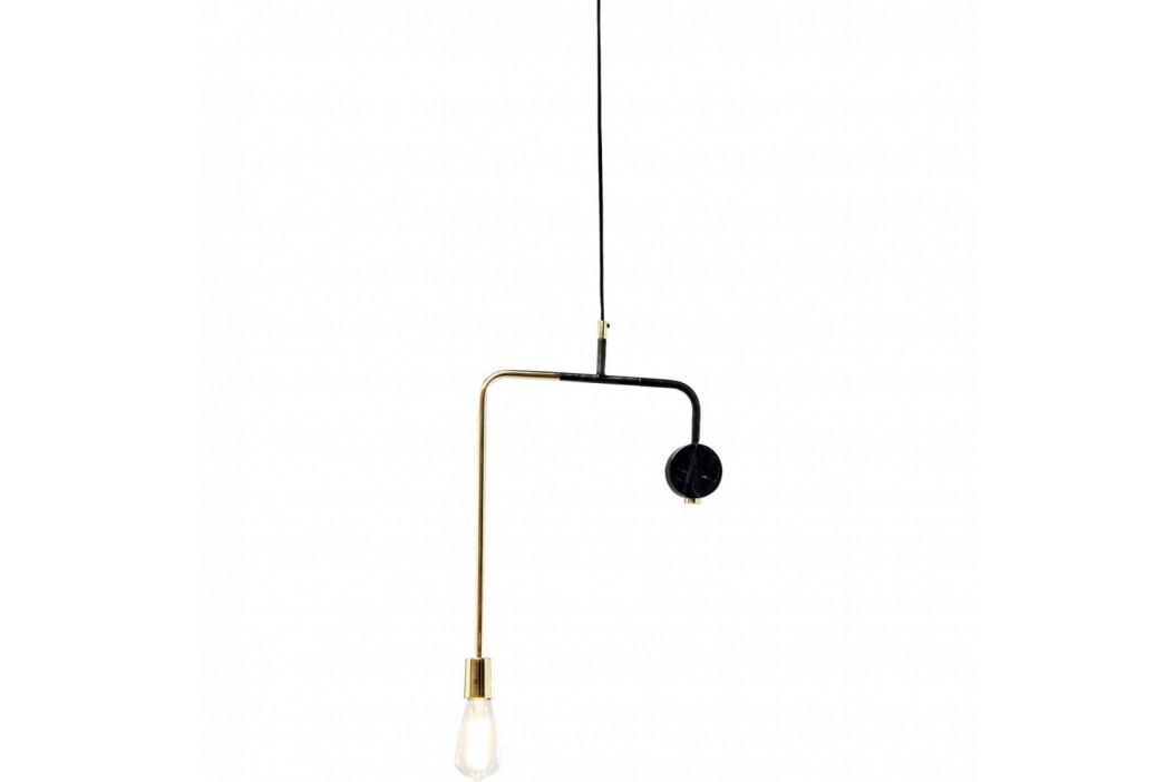 Čierne stropné svietidlo Kare Design Down