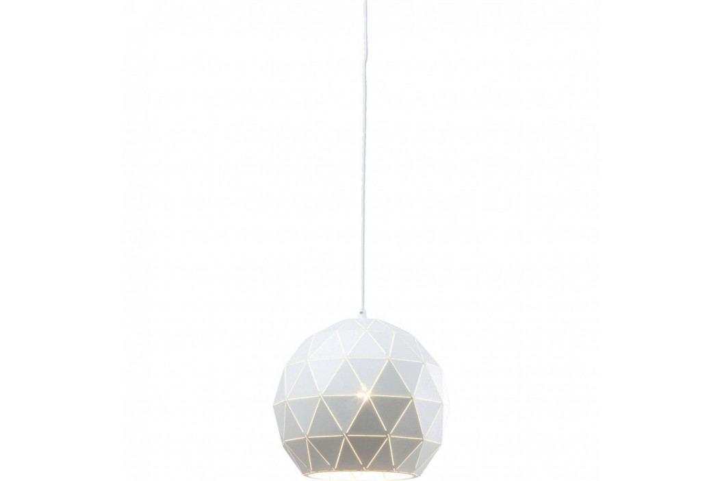 Biele stropné svietidlo Kare Design Triangle, Ø 30 cm