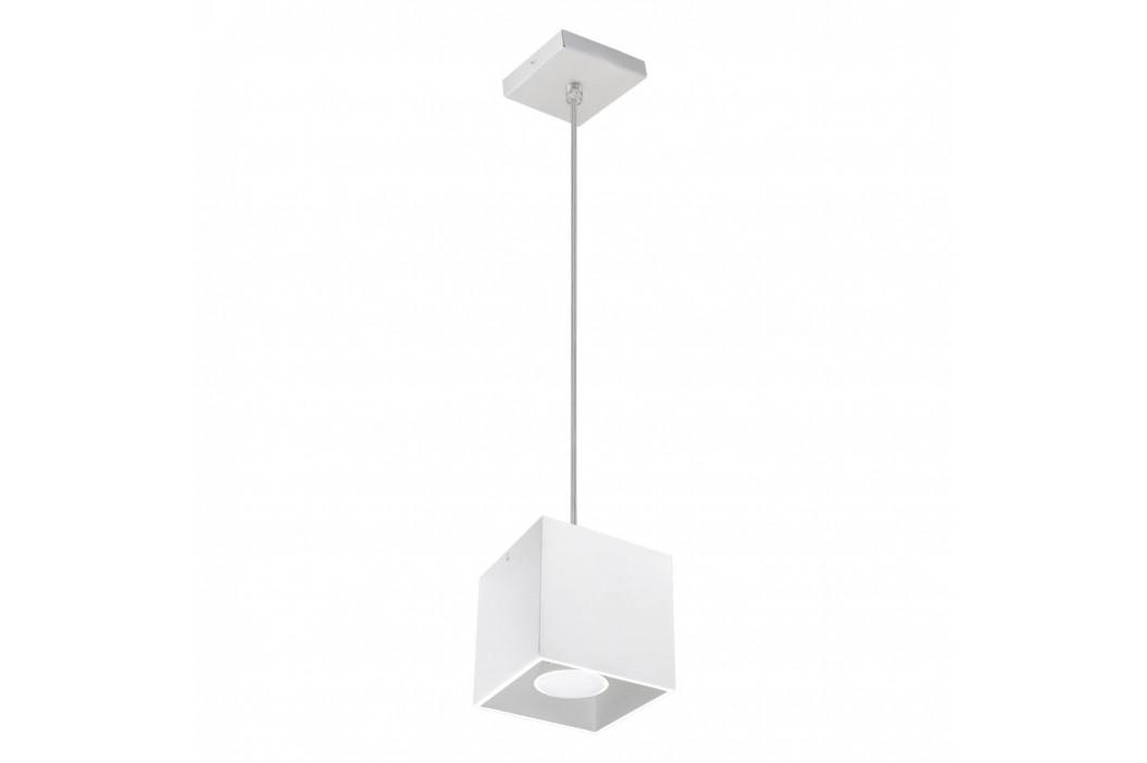 Biele závesné svetlo Nice Lamps Geo