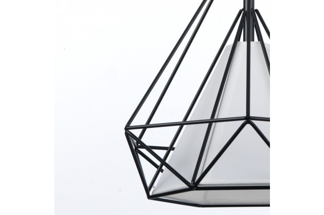 Čierne závesné svietidlo Tomasucci Diamond