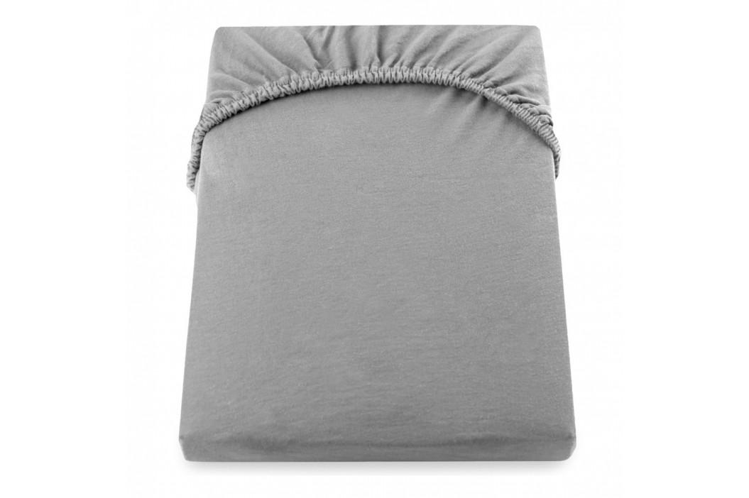 Sivá elastická plachta DecoKing Nephrite, 80–90cm