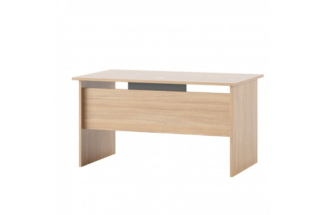 Pracovný stôl Szynaka Meble Omega, šírka 140 cm