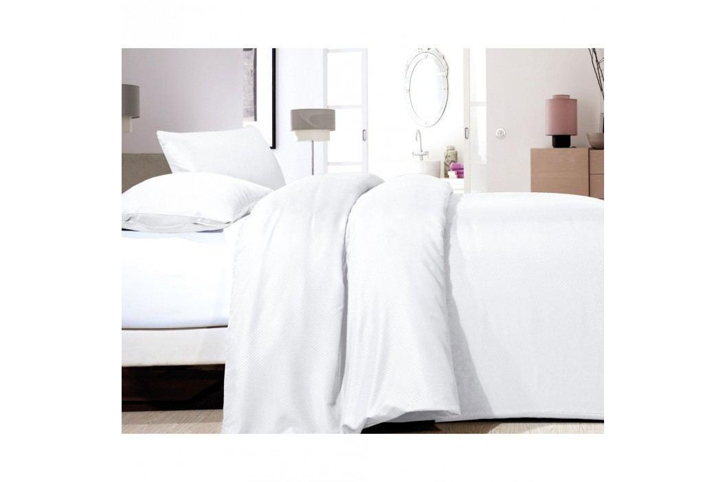 Biele obliečky z mikroperkálu Zensation Satin Point, 140 x 200 cm