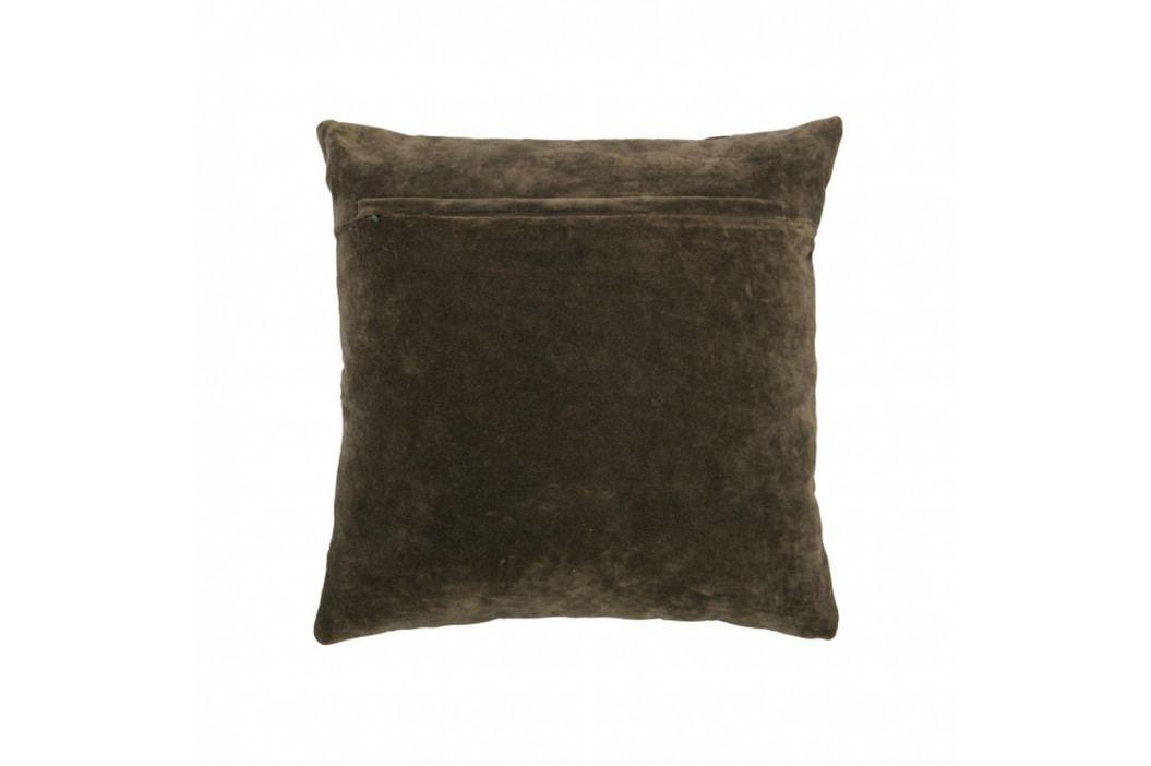 Tmavý sivohnedý vankúš De Eekhoorn Cuddle