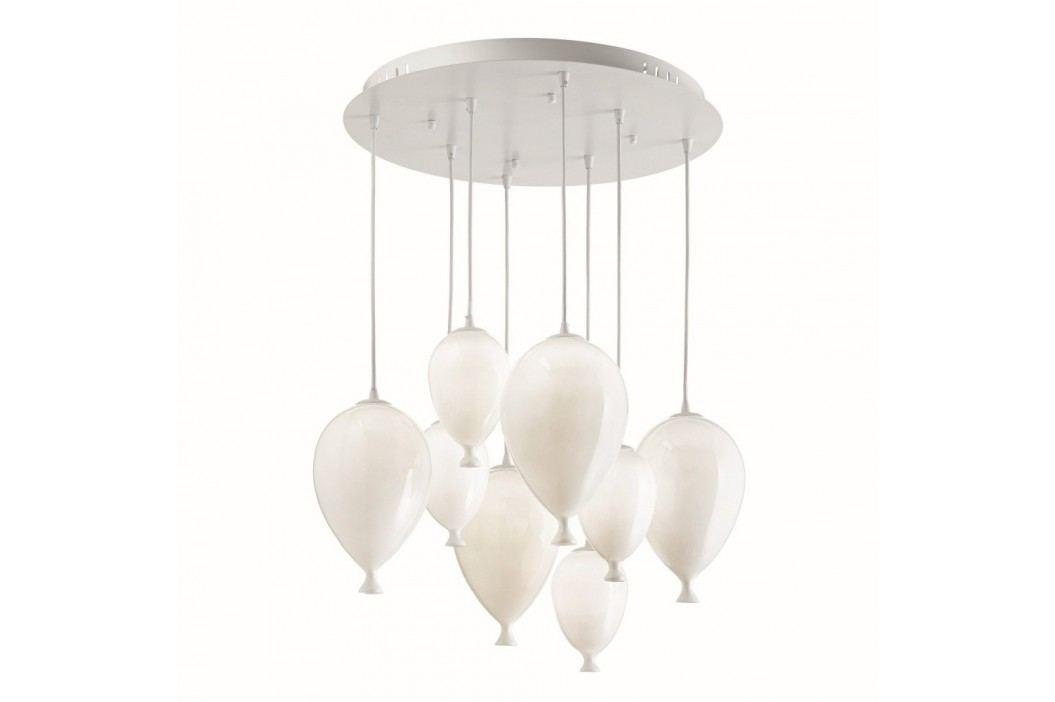 Závesné svietidlo Evergreen Lights White Balloons
